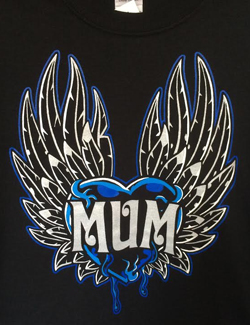 MUM Heart Beat T-Shirt